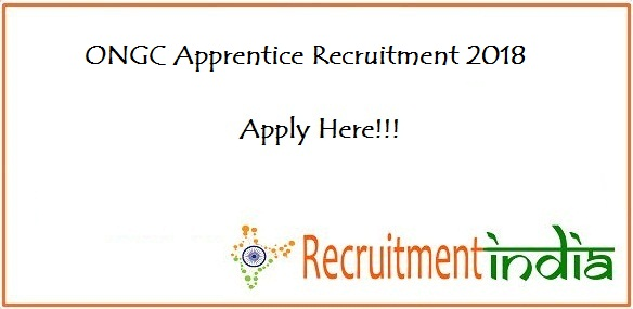 ONGC Apprentice Recruitment