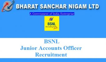 BSNL JAO Recruitment 2018- Apply BSNL Junior Accounts Officer Job Vacancies @ externalexam.bsnl.co.in