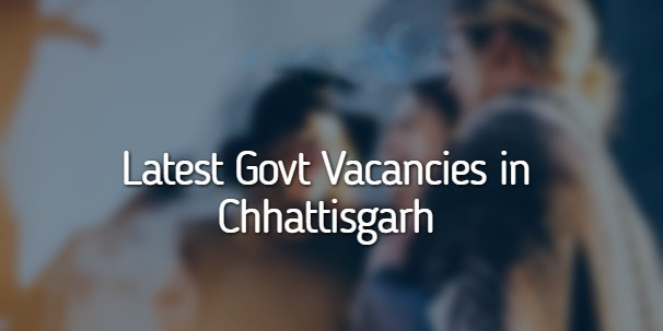 Govt Jobs in CG