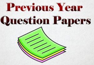 Last 10 Year previous Year Question Papers PDF of Banks