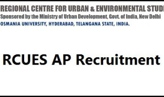 RCUES AP Recruitment 2017 || Apply Online – 750 Vacancies – Bill Collector Junior Assistant Jobs
