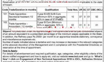 IOCL Trade Apprentice Recruitment 2018 | Apply Online 390 Vacancies @ iocl.com