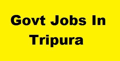 tripura jobs