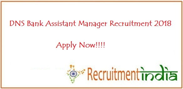 DNS Bank Assistant Manager Recruitment