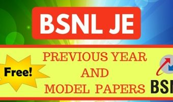 BSNL JE Previous Papers | Check  5 years Junior Engineer Solved Question Papers