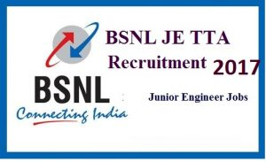 BSNL JE Recruitment