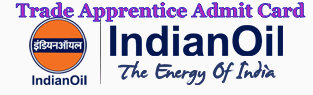 IOCL SR Trade Apprentice Admit Card