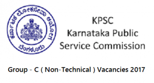 KPSC Group C Recruitment