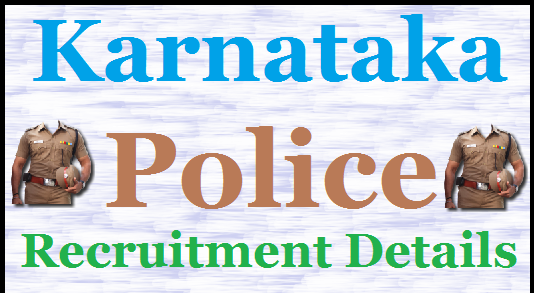 KSP Police Constable Recruitment