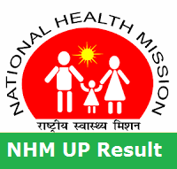 NHM UP Results