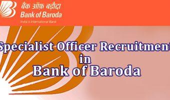 BOB SO Recruitment 2018-19 || Apply 361 Bank of Baroda Specialist Officer Job Vacancies