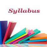 BOB SO Syllabus