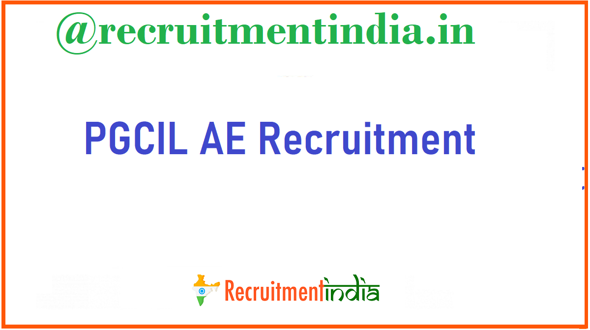 PGCIL AE Recruitment