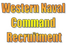 Western Naval Command MTS Recruitment