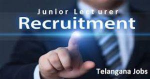 TSPSC Junior Lecturer Recruitment