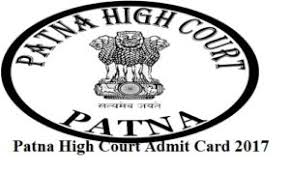Patna High Court Personal Assistant Admit Card 2017 – Download Exam Call Letter