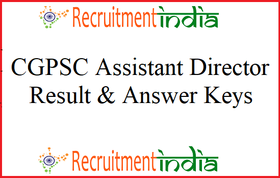 CGPSC Assistant Director Results