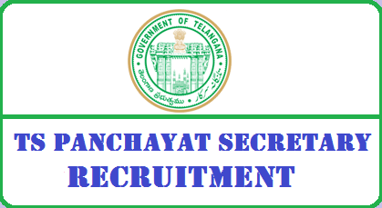 TSPSC Panchayat Secretary Recruitment