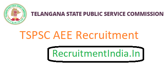TSPSC AEE Recruitment 2019 | TS Assistant Executive Engineer Jobs