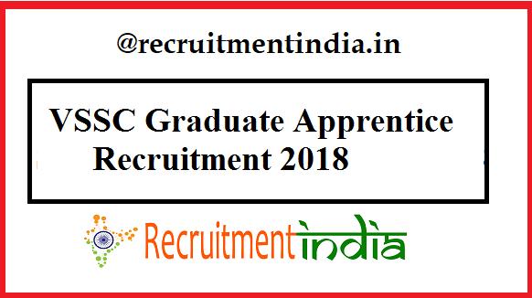 VSSC Graduate Apprentice Recruitment