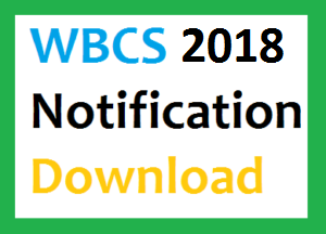 West Bengal Civil Services Exam Notification