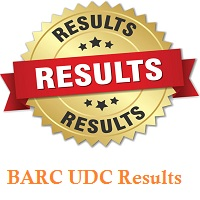 BARC UDC Result