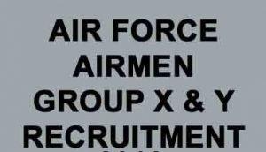 IAF Group X Y Airmen Recruitment