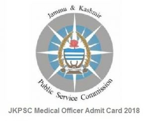 JKPSC Medical Officer Admit Card