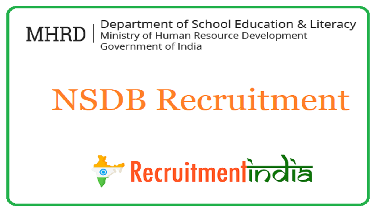 NSDB Recruitment