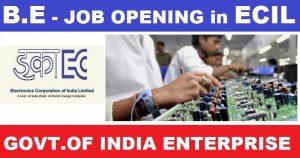 ECIL GET Recruitment