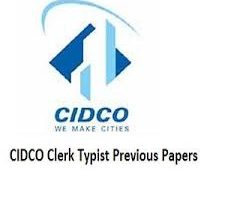 CIDCO Clerk Typist Previous Papers 2018 | Check Accounts Clerk,Other Posts Solved Papers