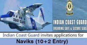 Indian Coast Guard Navik Recruitment