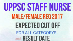 UPPSC Staff Nurse Results