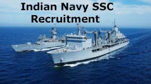 Indian Navy SSC Recruitment 2018
