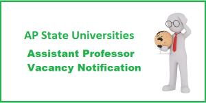 AP State Universities Recruitment