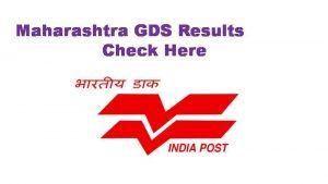 Maharashtra Postal GDS Results