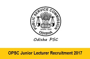 OPSC Lecturer Recruitment 2018
