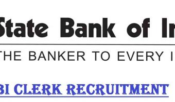 SBI Clerk Recruitment 2018