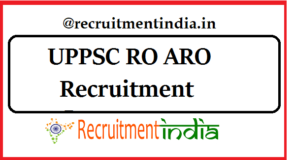 UPPSC RO Recruitment