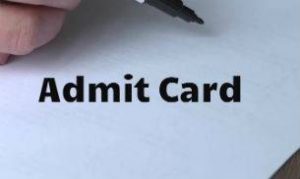 Karnataka Prisons Warder Admit Card 2018