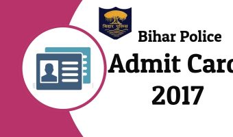 Bihar Police SI Admit Card 2018 | Check Prelims Exam Date, Hall Ticket