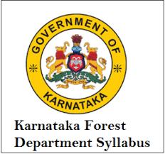 karnataka Forest Department Syllabus 2018