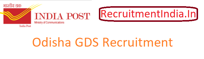 Odisha GDS Recruitment