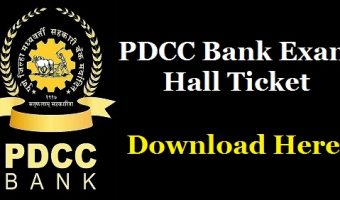 PDCC Bank Clerk Admit Card