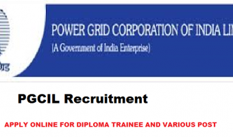 PGCIL Diploma Trainee Recruitment 2018 – Apply Online for 44 NR-III Posts , 28 NR-II Posts