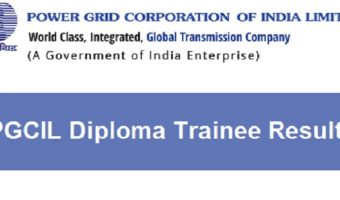 PGCIL Diploma Trainee Result 2018 | Check ER-II, SR-II Trainee Cut off & Answer Keys, Merit List @www.powergridindia.com/