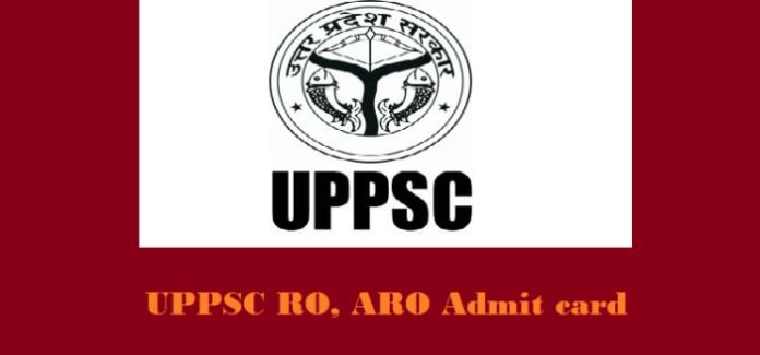 UPPSC RO/ARO Admit Card