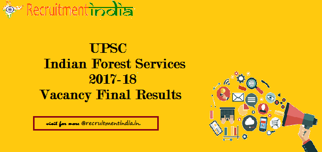 UPSC IFS Results