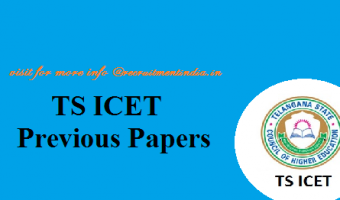 TS ICET Previous Papers 2018 || Download TSCHE TS ICET Entrance Exam Sample Model Papers PDF's