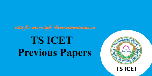 TS ICET Previous Papers 2018